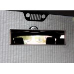 "9"" Wide Panoramic Rearview Mirror - Windshield Mount"