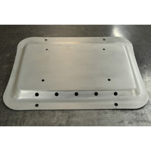 Full Metal Fabworks Solution Plate Raw Aluminum
