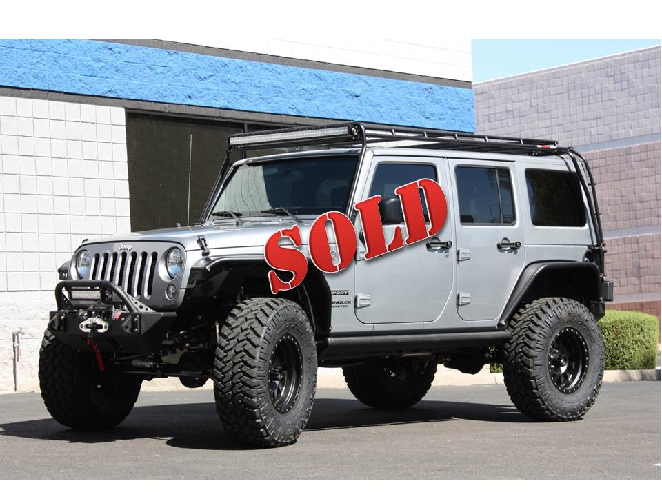 Jeep Wrangler Unlimited Lift 2016 Jeep Wrangler Unlimited Expedition Edition - Billet Silver